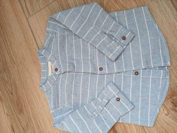 Koszula eko-bawełna 80