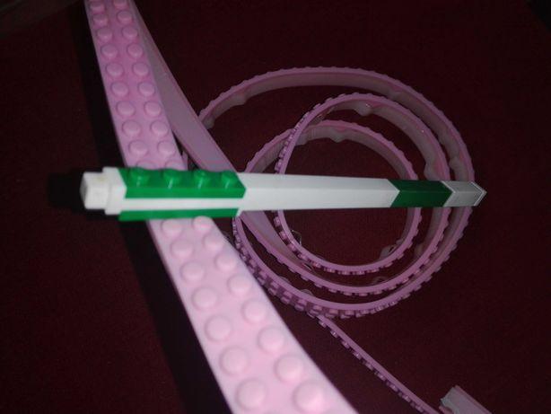 Lego taśma , 1m , różowa