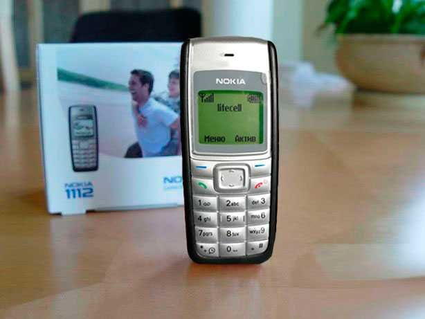 Срочно! Nokia 1112 1110 Black мобильный телефон (Финляндия)