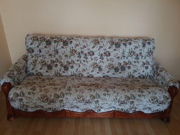Zestaw kanapa + dwa fotele