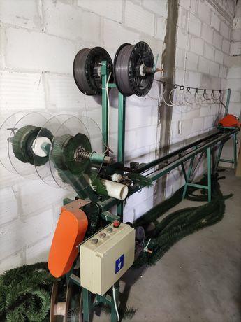 Maszyny do choinek sztucznych, wiązanek, podkładów