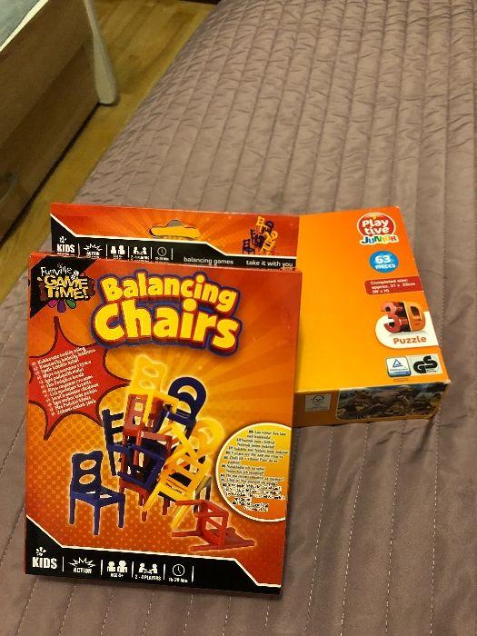 Puzle plus gra,,Balancing Chairs,, Ząbki - image 1