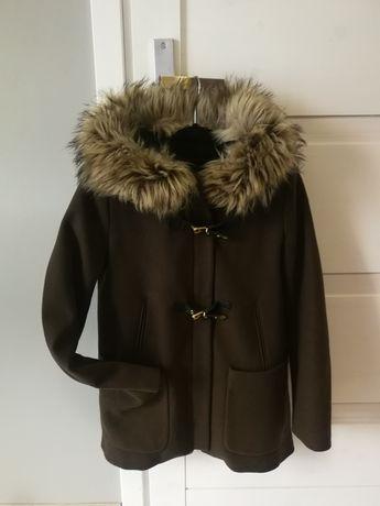 Piękny płaszcz Zara r M