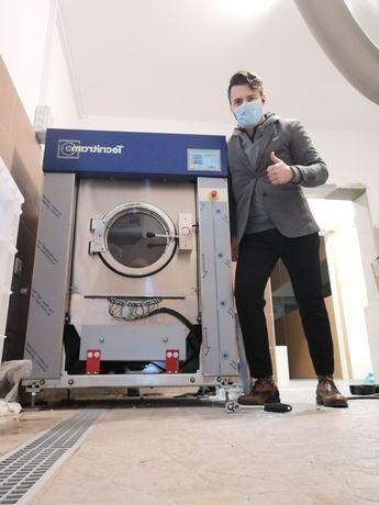 Máquina de lavar roupa industrial ou Self service Residências sénior