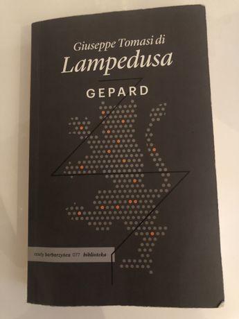 "Książka ""Gepard"" Giuseppe Tomasi di Lampedusa"