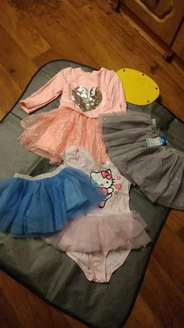 Ubranka dla dziewczynki zestaw 35 SZTUK