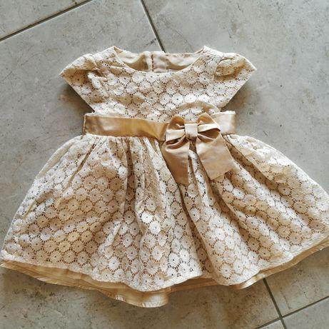 Sukienka dla małej księżniczki r 68