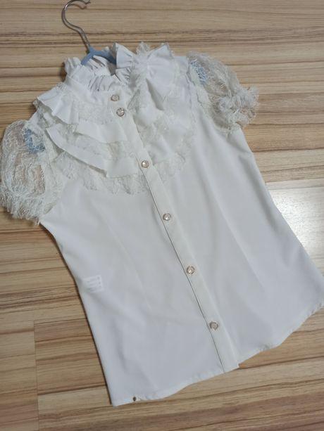 Блузка школьная Роза Suzie 134 размер для девочки 9 лет