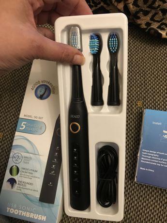 Escova de dentes eletrica nova