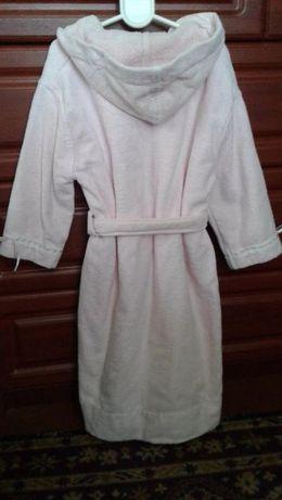 La Perla Италия оригинал теплый махровый банный халат девочке 4А