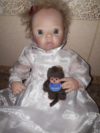 Кукла пупс реборн интерактивный ADG