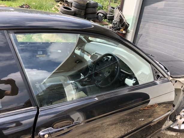 Szyba szyby przod lewa prawa bmw e46 coupe cabrio