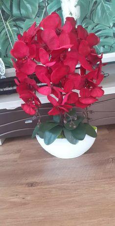 Sztuczny storczyk rózne kolory, prezent na Dzień Mamy