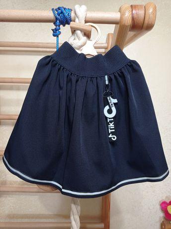 Новая юбка 134 рост 150 грн
