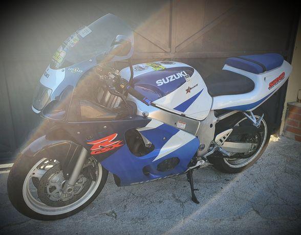 Suzuki gsxr600 120cv