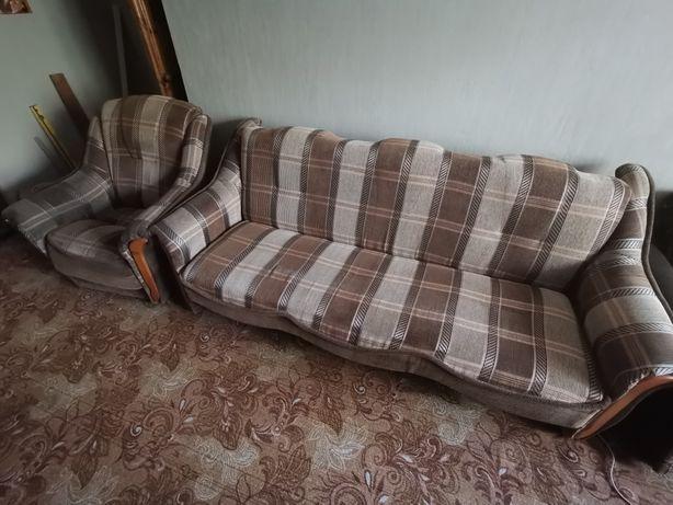 Диван + 1 кресло