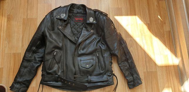 Komplet strój motocyklowy skórzany 32 L&J