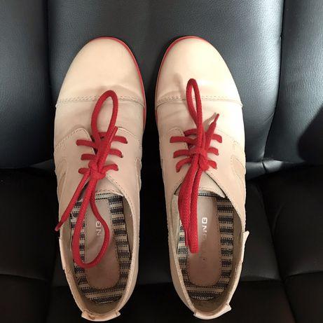 Кеды Туфли Ботинки кожаные