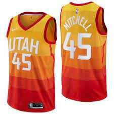 Jersey Utah Jazz Donovan Mitchel