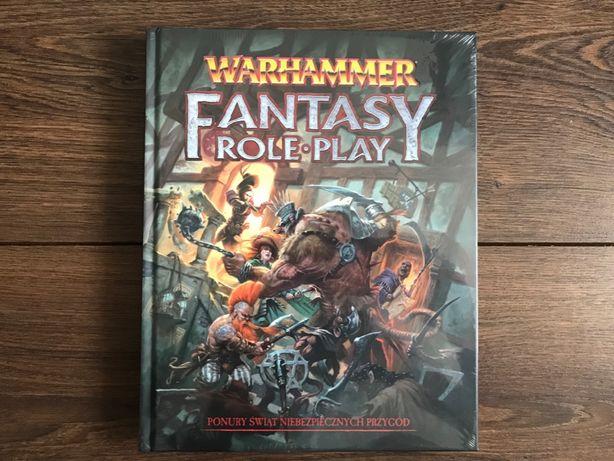 Gra Podręcznik podstawowy WARHAMMER 4 Edycja PL - NOWY
