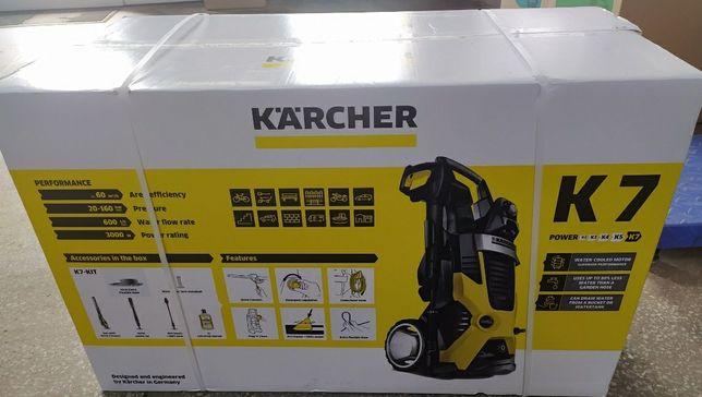 Минимойка  Karcher K7 это модель высшего класса  [ K5 K4 K5 Ful