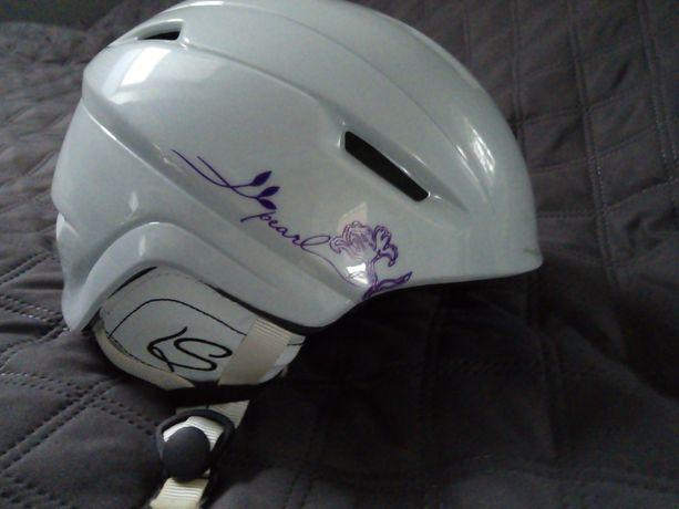 Kask narciarski Salomon Pearl white xxs