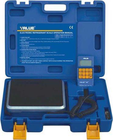 Весы для фреона R 134, R 22, R 410, вальцовка, манометрия Value
