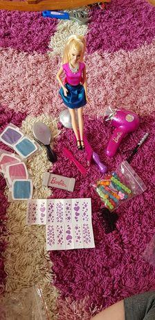 Lalka Barbie zestaw fryzjerski