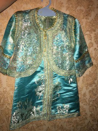 Платье и жилет , китай , костюм национальный