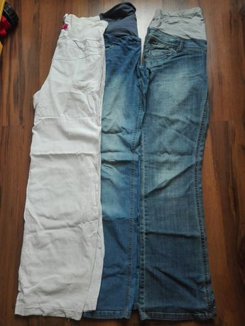 Spodnie ciążowe- 3 pary