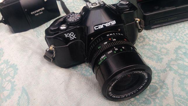 СARENA 100 SX зеркальный пленочный , фотовспышка