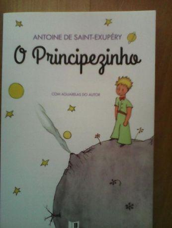 O Principezinho, de Saint-Exupéry, como novo, com aguarelas