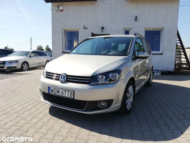 Volkswagen Touran 2011r, 1.6 TDI 105km *DSG *7 os. *Zamiana!
