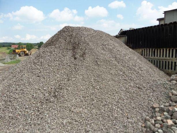 Kamień kruszywo kliniec tłuczeń CAŁY ŚLĄSK TRANSPORT