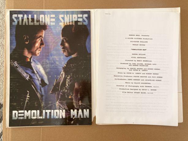 Stallone - Człowiek Demolka - skrypt + synops