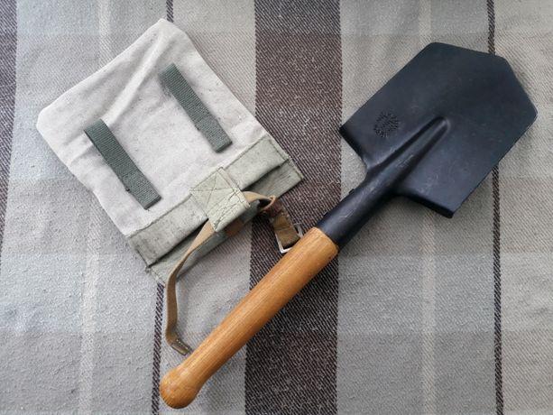 Малая пехотная лопата + чехол. Саперная лопатка и подсумок Военная
