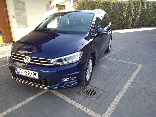 VW touran 7osobowy higline