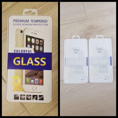 Szkło hartowane 5D FULL GLUE XIAOMI REDMI 5 PLUS. Cena za 2 szt. Białe