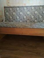 Диван - ретро деревянный, компактный