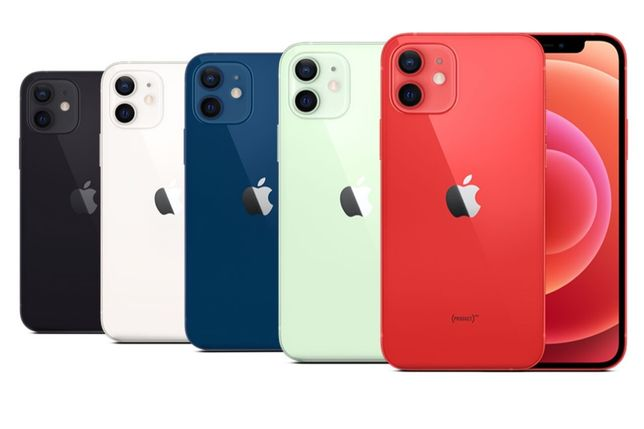 Новий iPhone 12 Mini 64-128-256Gb Green/Black/Red/Blue/White Кредит-0%