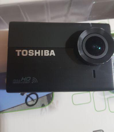 Kamerka Toshiba camileo x sports FLD komplet! Jak nowa gopro yi 4k