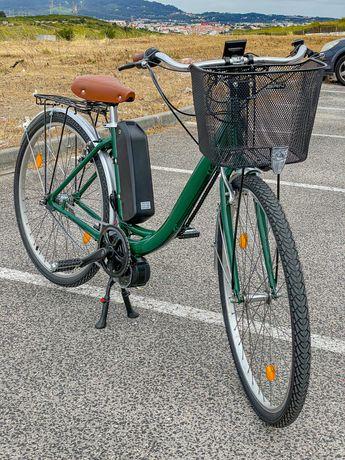 Bicicleta Citadina convertida a E-Bike