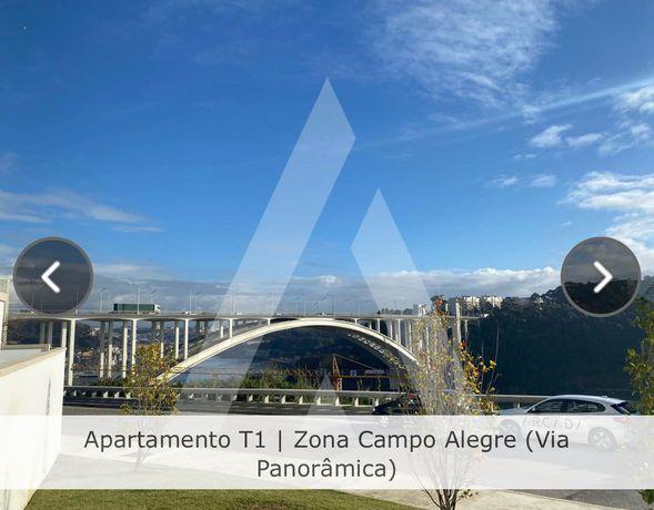 Apartamento T1 para arrendar - Campo Alegre