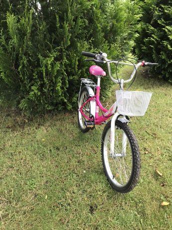 Rowerek dla dziewczynki 20 cali