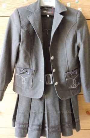"Школьная форма ""Helena"" тройка (пиджак, сарафан, брюки)"