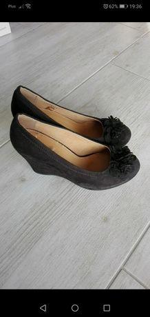 Graceland_czarne koturny_38