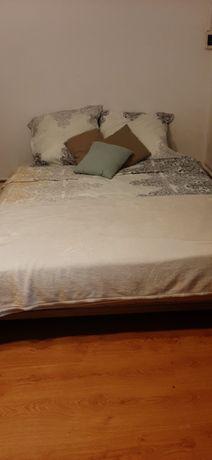 Transport Łóżko sypialniane hotelowe 2 materace stelaz 180 ×200