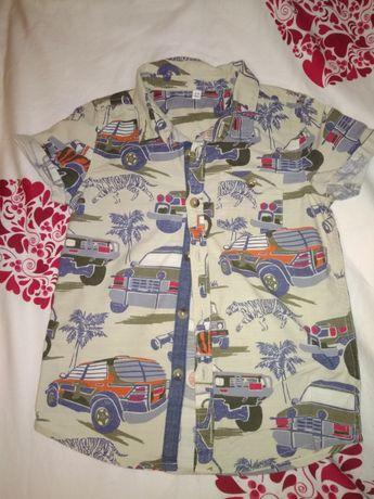 3 modne koszule dla chłopca 92