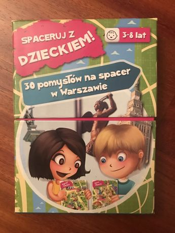 Spaceruj z dzieckiem. 30 pomysłów na spacer w Warszawie. NOWY