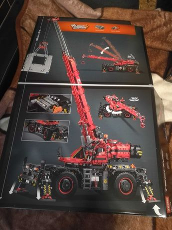 Lego Technic 42082 Dźwig - Rough Terrain Crane